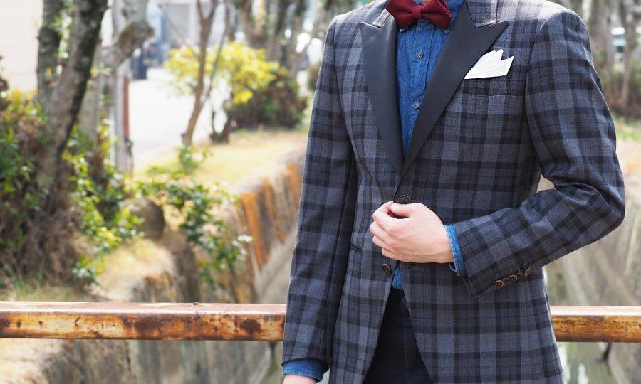 タキシード≧(大なりイコール)ビジネススーツ