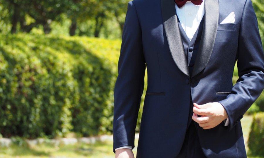 やっぱり結婚式はタキシード、作る方が得。