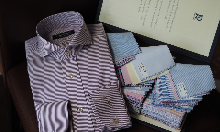 Yシャツの柄(チェック編①)