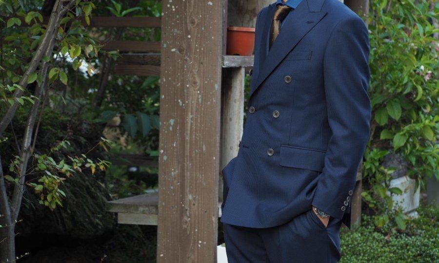 ダブルブレストジャケット・スーツへの憧れ