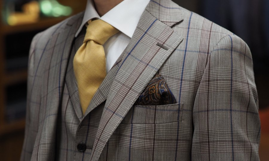 アスリート体型とオーダースーツ