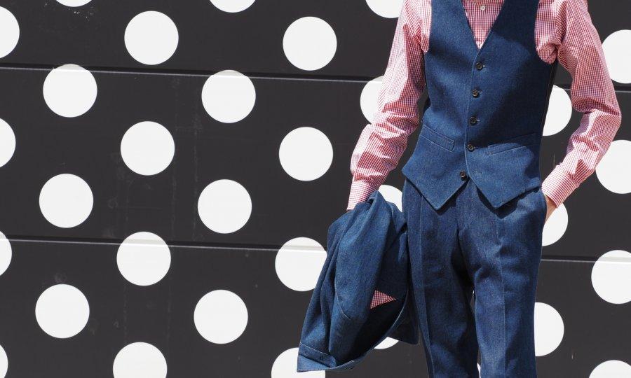 岡山デニムスーツの使い方