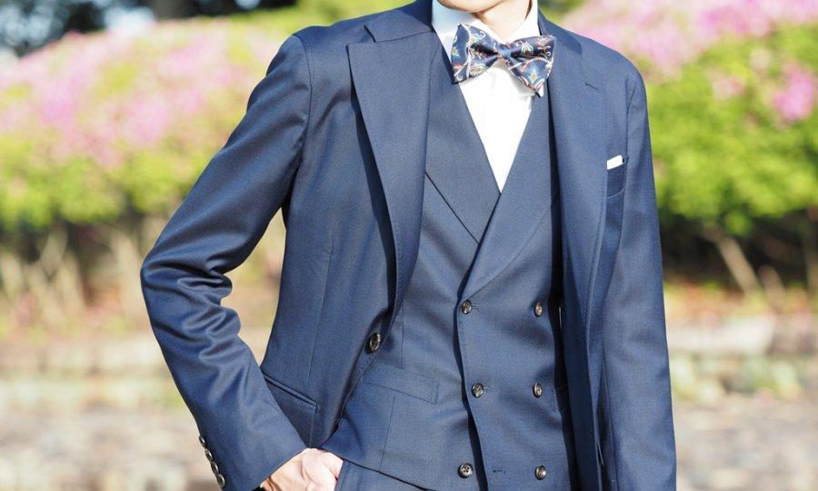 スーツのジャケットの保管方法を一工夫。
