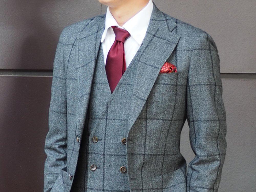 似合うスーツを知る