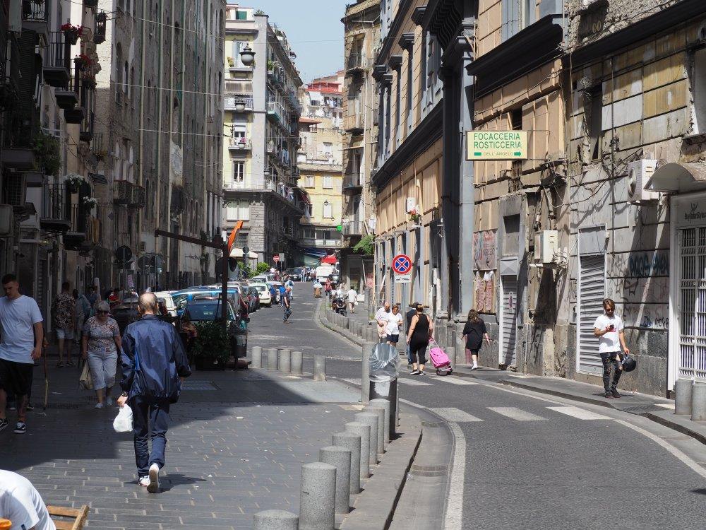 古い文化と新しい文化の息づく街