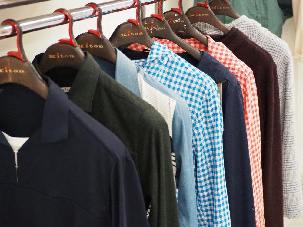 Kitonのシャツ仕立てを見たい方はこちら。