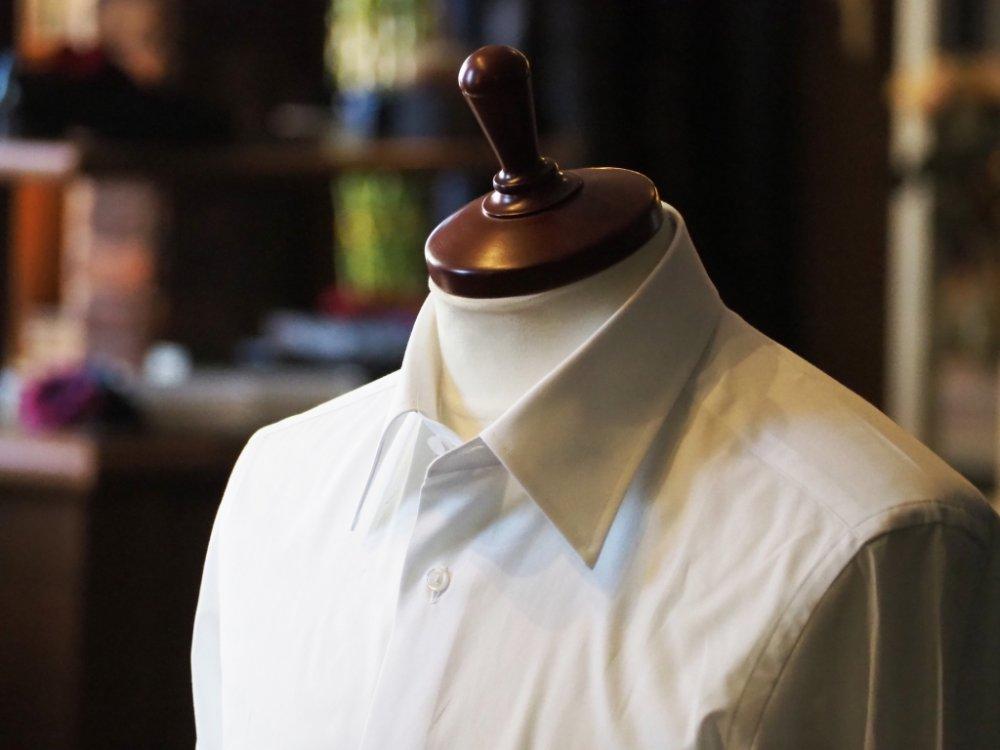オーダーシャツは'見た目''着心地'が既製品とは全く違います
