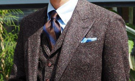 ネクタイは、「ディンプルと長さと結び」で決まる。
