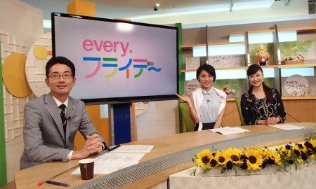 テレビ出演で着て頂きました。