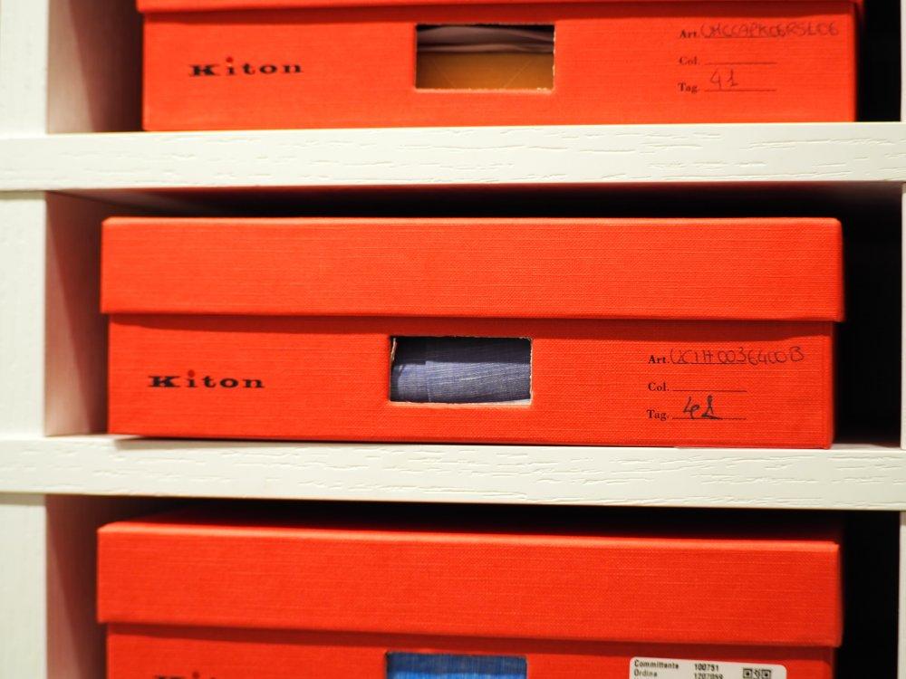 赤い箱に納められた美学。