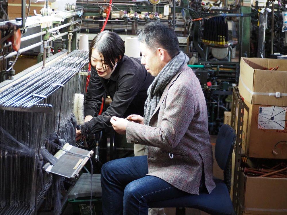 葛利毛織さんの工場見学に進む方はコチラから!
