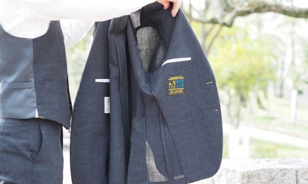 汗とスーツ