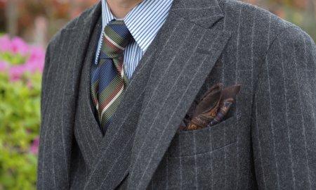 ビジネスにはスーツです。「スーツを止めるな!」
