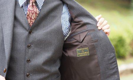 スーツと共に歳を重ねる。